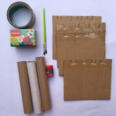 How to Make Cardboard Castles for Kids