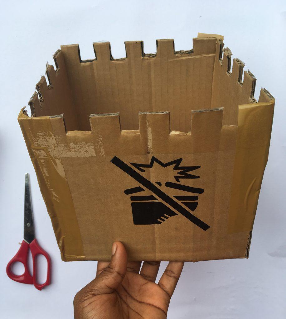 How To Make Cardboard Castles For Kids Raising Mumeens