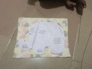 How to make a stuffed toy elephant for kids