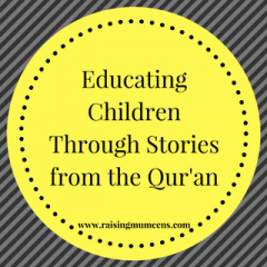 Educating Children Through Stories from the Quran