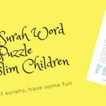 Qur'an Surah Puzzle for Muslim Children
