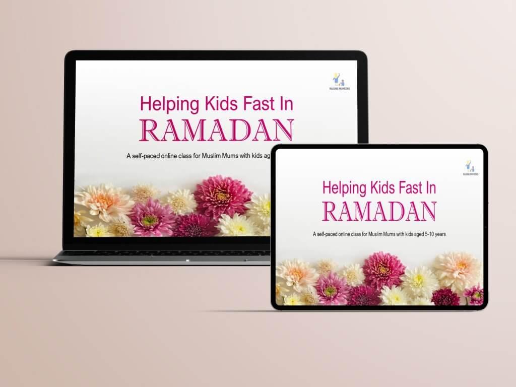 Helping kids fast in Ramadan